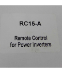 Remote Control RC15-A for Power Inverters OVP