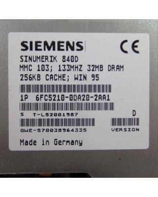Sinumerik 840D MMC103 6FC5210-0DA20-2AA1 Vers.D GEB