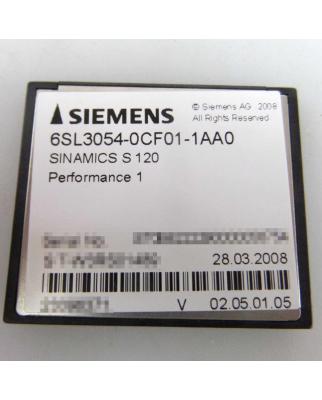 Siemens Speicherkarte Sinamics S120 6SL3054-0CF01-1AA0 GEB