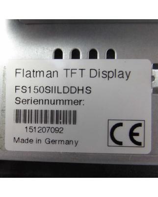 IQ Automation GmbH Flatman TFT Display FS150SIILDDHS IQ15D1 GEB