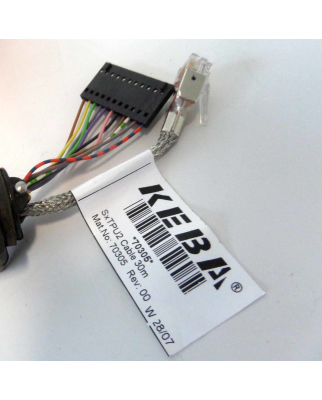KEBA Kabel 3HAC11266-4 SxTPU2 70305 Rev:00 30m OVP