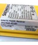 Siemens Simatic Lichtvorhang Empfänger FS420I 3RG7845-6DJ01 NOV