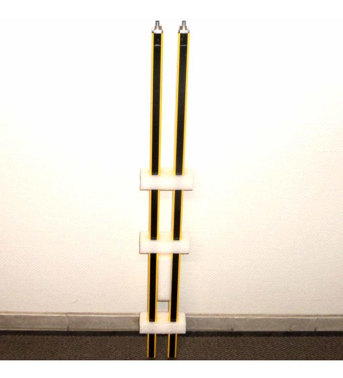 Leuze Lichtvorhang lumiflex Solid-4 Sender SD4T14-1050 + Empfänger SD4R14-1050 NOV