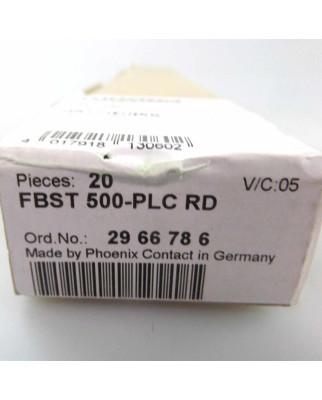 Phoenix Contact Endlossteckbrücke FBST 500-PLC RD 2966786 (20Stk.) SIE