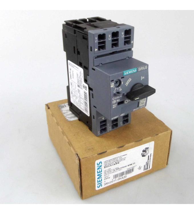 Siemens Leistungsschalter 3RV2011-0KA20 OVP