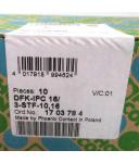 Phoenix Contact Durchführungsstecker DFK-IPC 16/ 3-STF-10,16 1703784 (10Stk.) SIE
