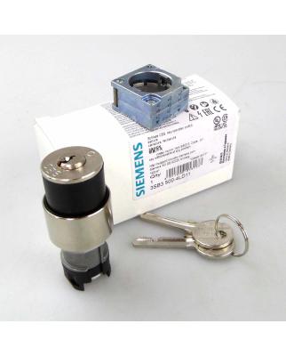 Siemens Schlüsselschalter 3SB3 500-4LD11 SSG10 OVP