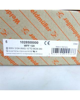 Weidmüller Bolzenklemme WFF 120 1028500000 (5Stk.) OVP