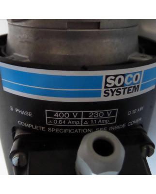 Soco System / Emod Motor 56L/4 0,12kW GEB