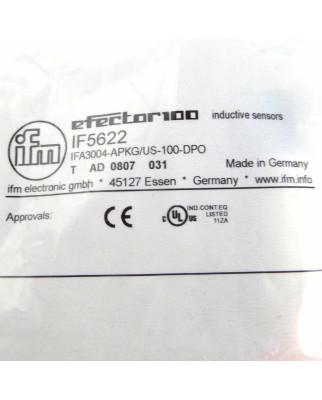 ifm efector induktiver Sensor IF5622 IFA3004-APKG/US-100/DPO OVP