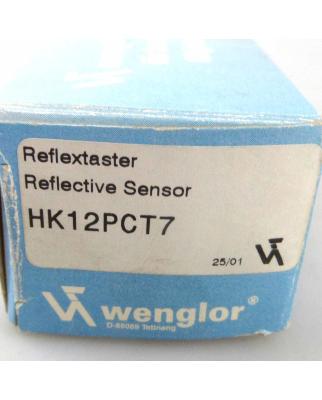 wenglor Reflextaster HK12PCT7 OVP