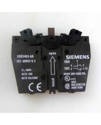 Siemens Schaltelement 3SB3403-0A (10Stk.) OVP
