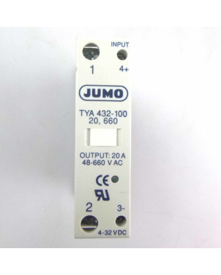 JUMO Thyristor-Leistungsschalter TYA 432-100 20,660 4-32VDC NOV