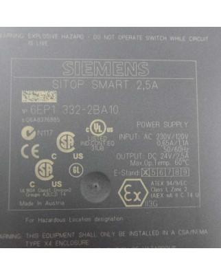 Simatic SITOP SMART 2,5A 6EP1 332-2BA10 #K2 GEB