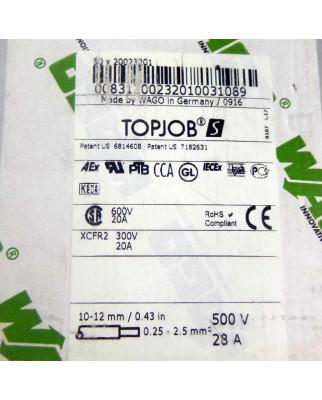 WAGO Dreistockklemme 20023201 (50Stk.) OVP