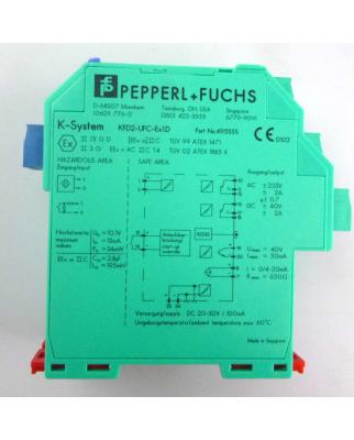 Pepperl+Fuchs Frequenzmessumformer KFD2-UFC-Ex1.D 49535S GEB