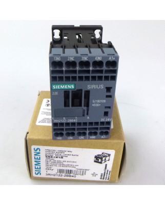Siemens Hilfsschütz 3RH2122-2BB40 24V OVP