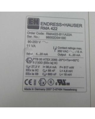 Endress+Hauser Prozessmessumformer RMA 422 RMA422-B11A22A GEB