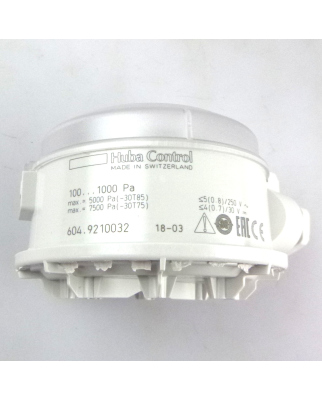 Huba Control Mechanischer Druckschalter 604.9210032 100-1000Pa OVP