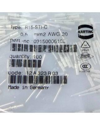 Harting Crimpkontakt, Stecker R15-STI-C 09150006103...