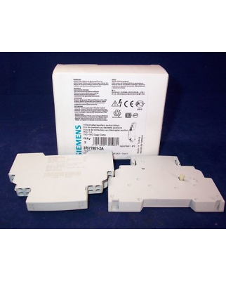 Siemens Hilfsschalter 3RV1901-2A (2Stk.) OVP