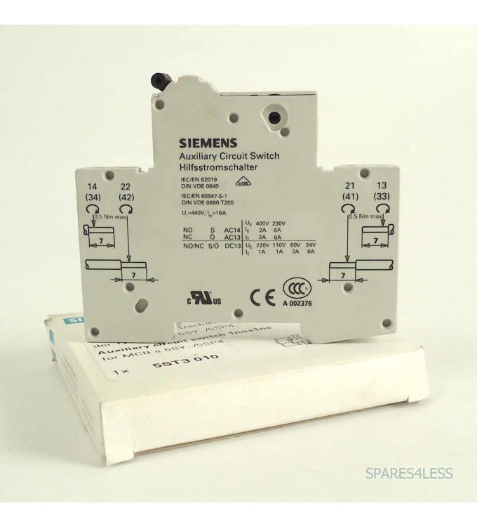 Siemens Hilfsstromschalter 5ST3 010 OVP