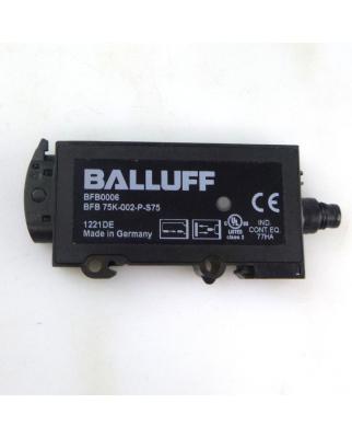 Balluff Optosensor BFB0006 BFB 75K-002-P-S75  NOV