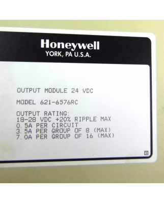 Honeywell Output Module 621-6576RC GEB