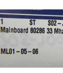 ICP CPU-Karte ASC486 BM BM-401 94V-0 9445 Rev.C OVP
