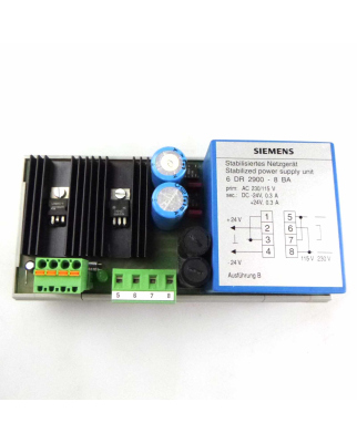 Siemens Stabilisiertes Netzgerät 6DR2900-8BA GEB