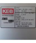 KEB Frequenzumrichter Combivert 05.F0.R03-1228 0,9kVA OVP