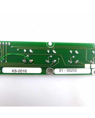 KAT S-Tastenplatine K8-0016 Vers.2.0/5/94 NOV