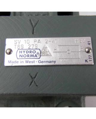 Rexroth Hydronorma Rückschlagventil SV 10 PA 2-41 NOV