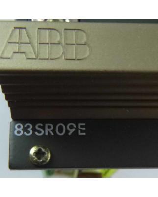 ABB Steuer- und Regelgerät 83SR09E 83SR09C-E GJR2366500R1010 GEB