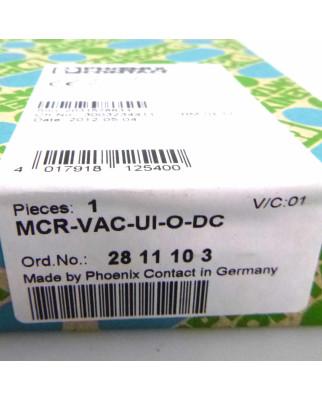 Phoenix Contact Spannungsmessumformer MCR-VAC-UI-O-DC 2811103 SIE