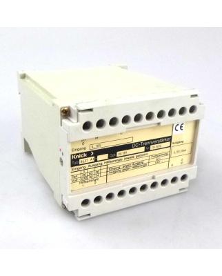 Knick DC-Trennverstärker Typ 8637 A1 GEB