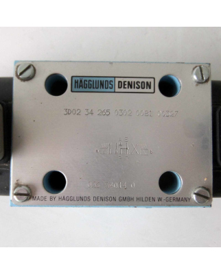 Hägglunds Denison Magnetventil 3D02 34 265 0302 00B1 0Q327 GEB