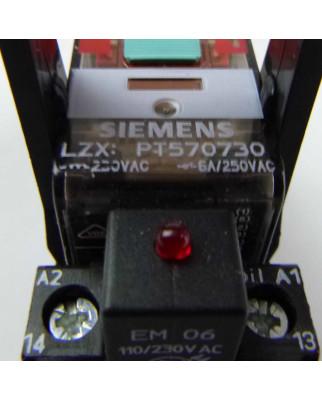 Siemens Steckrelais PT5A5T30 230V NOV