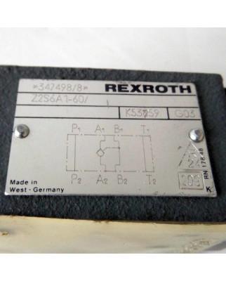 Rexroth Rückschlagventil Z2S 6A1-60/ GEB