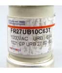 Ferraz-Shawmut/Mersen Sicherung FR27UB10C63T 1000VAC 63A NOV