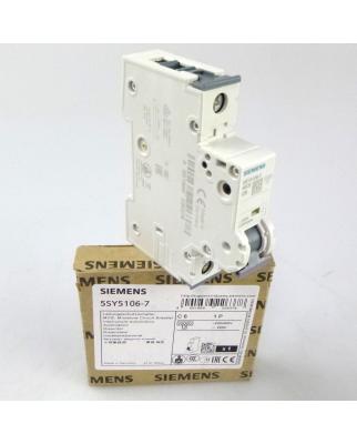 Siemens Leitungsschutzschalter 5SY5 106-7 OVP