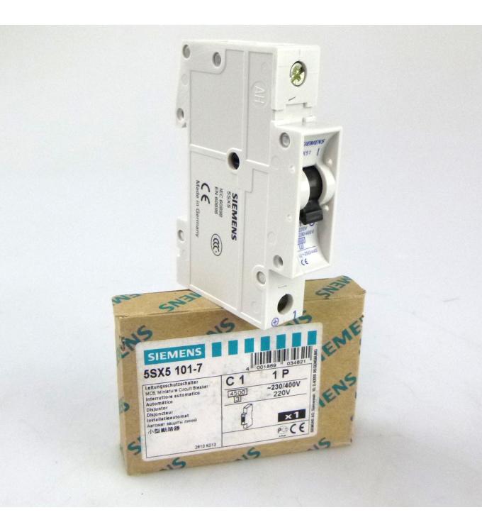 Siemens Leitungsschutzschalter 5SX5101-7 OVP