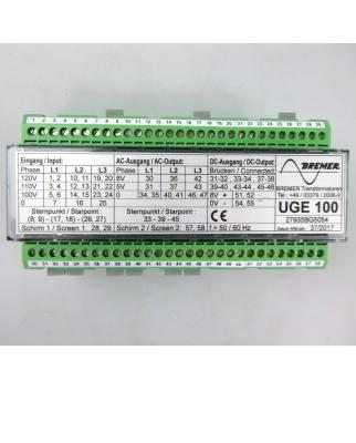 Bremer Transformatoren GmbH 3-ph-Spannungserfassung UGE 100 GEB