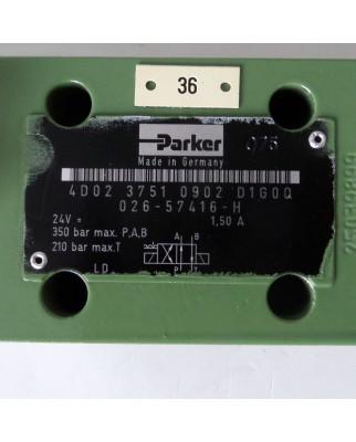 Parker Wegeventil 4D02 3751 0902 D1G0Q NOV