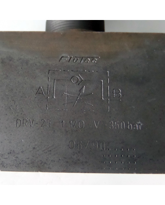 Flutec Drosselrückschlagventil DRV-25-01.1/0 NOV
