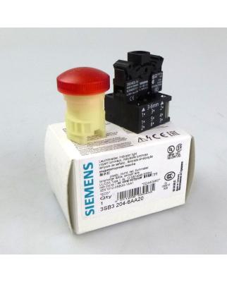 Siemens Leuchtmelder rot 3SB3204-6AA20 OVP