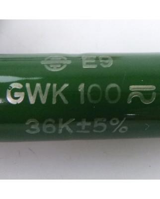 Vishay Drahtwiderstand GWK100 GDK 36K 5% BV06216 OVP