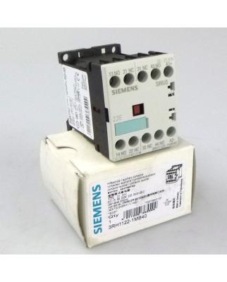Siemens Hilfsschütz 3RH1122-1MB40  OVP
