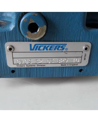 Vickers Ventilabdeckung CVCS-32-D3-B29-10 NOV