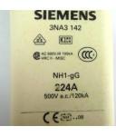 Siemens Sitor Sicherungseinsatz 3NA3 142 (3Stk.) OVP